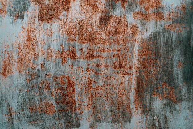 Rost und oxidierter metallhintergrund.