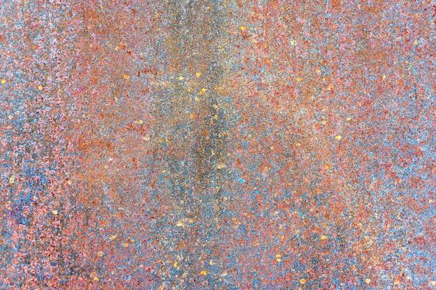 Rostige metallplattenbeschaffenheit