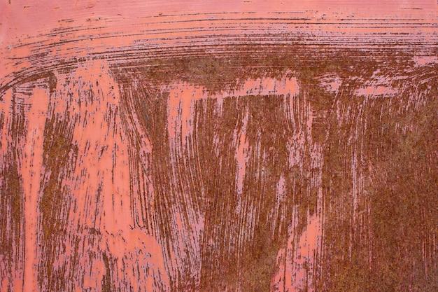 Rostiger alter metallkratzeroberflächenbeschaffenheitshintergrund