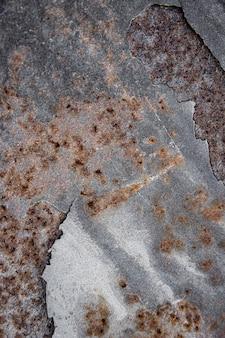 Rostiger brauner metallischer materialhintergrund