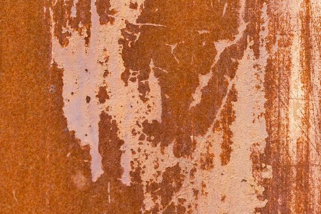 Rostiger dunkler metallhintergrund des schmutzes