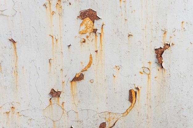 Rostiger metallischer texturhintergrund