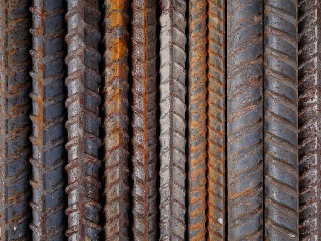Rostiger metallwandhintergrund