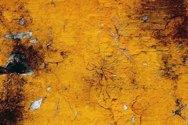 Rostiges altes metall. hintergrund der abblätternden farbe