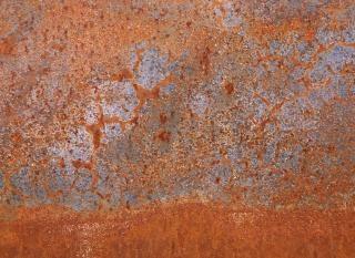 Rostiges metall textur stahloberfläche