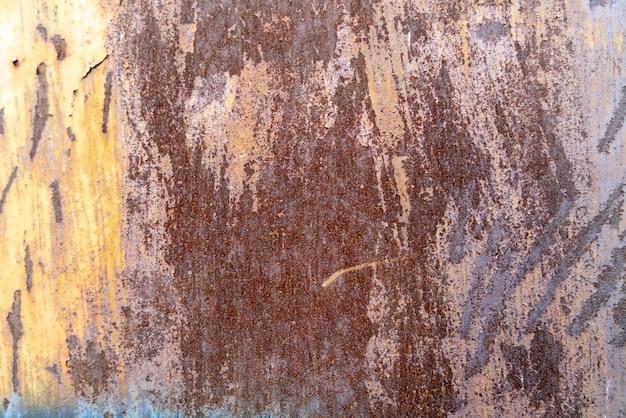 Rostiges metallplattenhintergrundmaterial