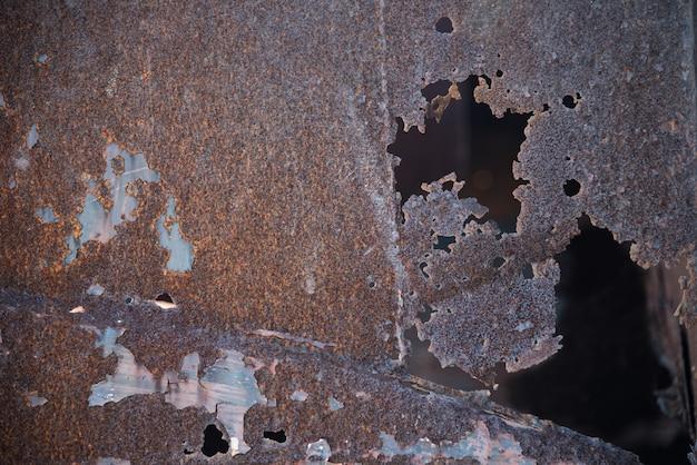 Rostmetallrote alte beschaffenheit
