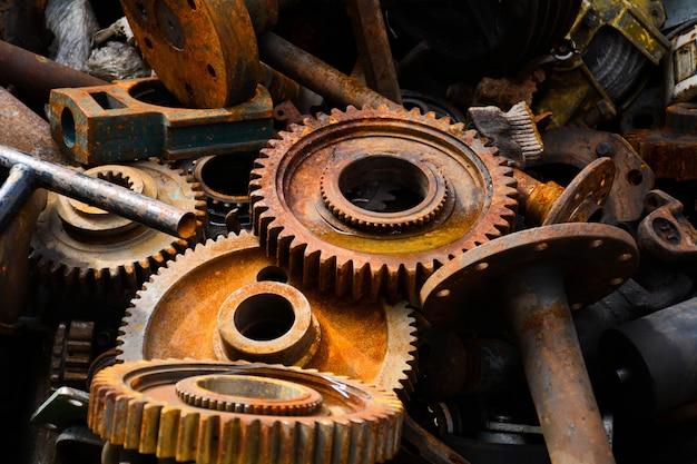 Rosträder der alten maschine