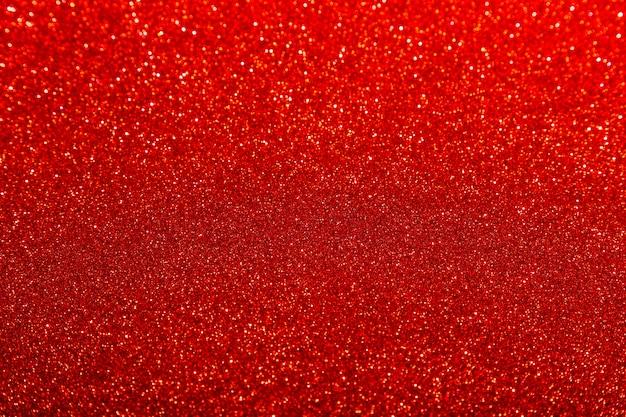 Rot glänzender glitzer