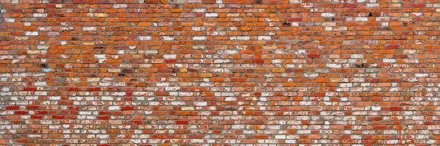 Rote backsteinmauer.