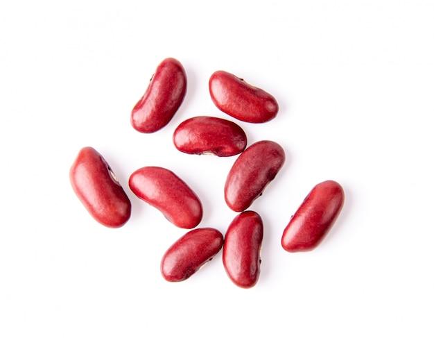 Rote bohnen isoliert