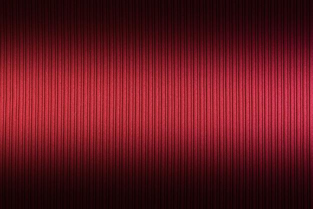 Rote farbe des dekorativen hintergrundes, gestreiftes texturegradient. tapete.
