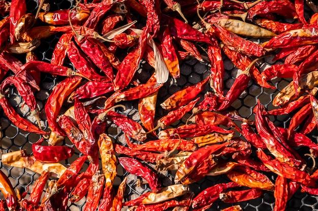 Rote getrocknete chili