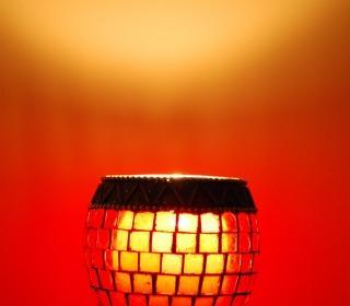 Rote lampe, lampe