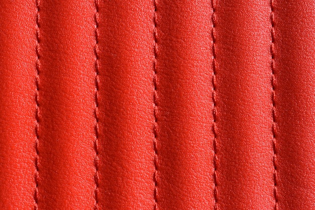 Rote lederstruktur