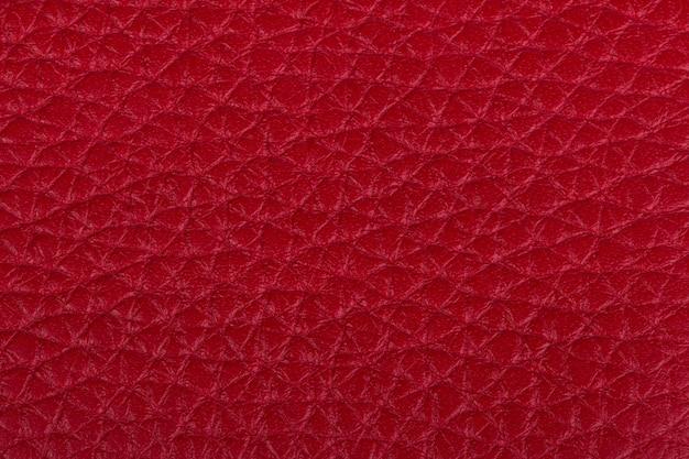 Rote naturleder textur