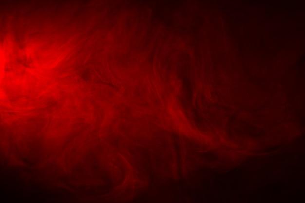 Rote rauchige abstrakte textur