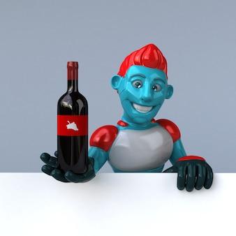 Rote roboteranimation