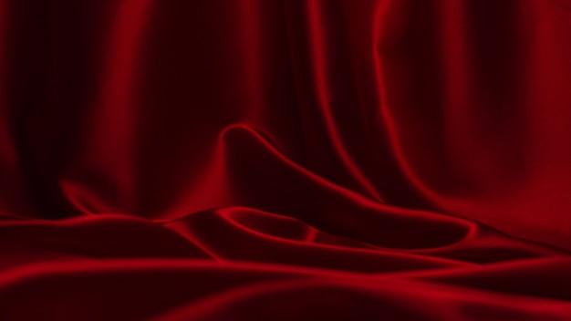 Rote seide oder satin luxus stoff textur
