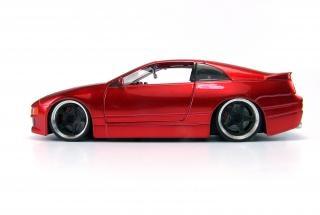 Rote spielzeugauto, auto-