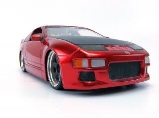 Rote spielzeugauto, teuer