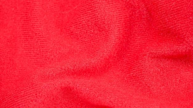 Rote stoffgewebehintergrundbeschaffenheit