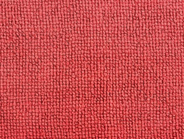 Rote stoffstruktur Premium Fotos