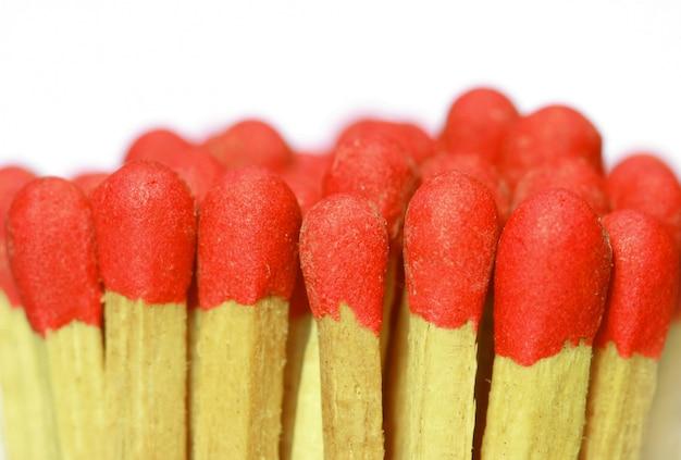 Rote streichhölzer