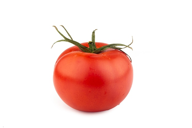 Rote tomate isoliert
