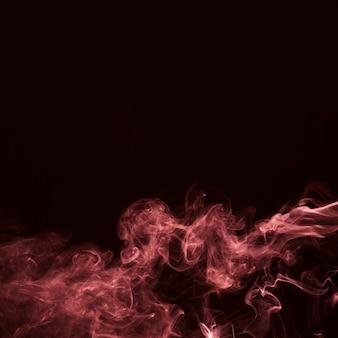 Rote trübung nebel oder smog hintergrund