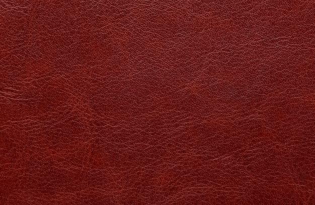 Rote und braune lederstruktur