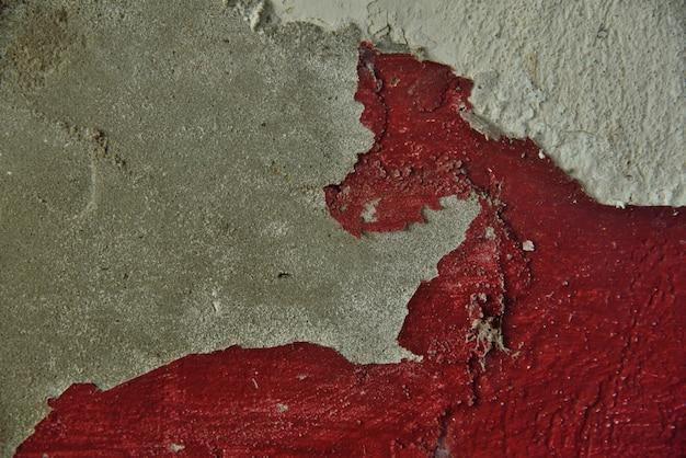 Rote und weiße zementbeschaffenheit und -hintergrund