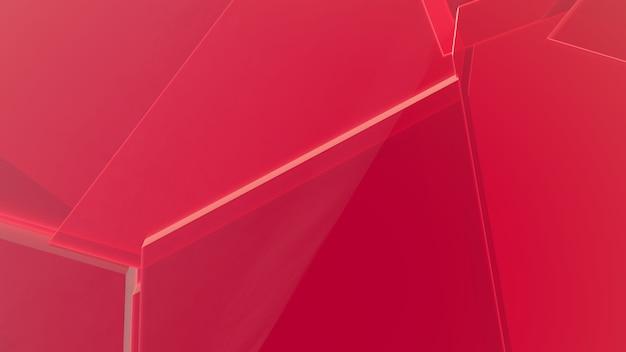 Roter abstrakter geometrischer hintergrund