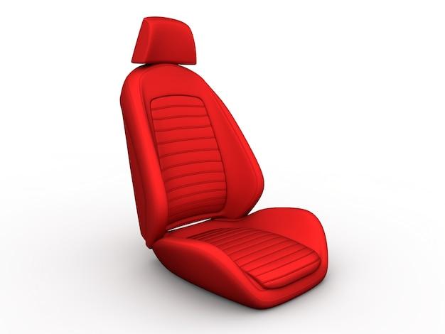 Roter autositz