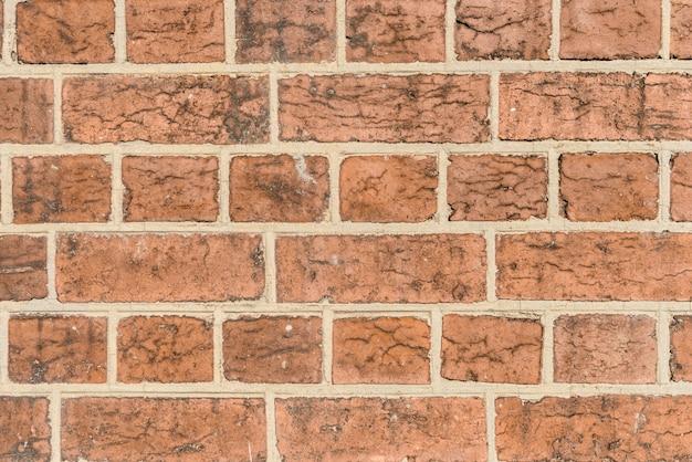 Roter backsteinmauer hintergrund