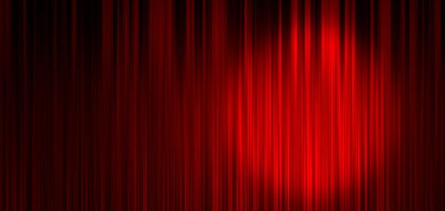 Roter bühnenvorhanghintergrund