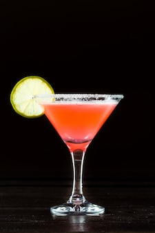 Roter cocktail