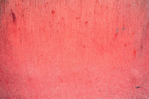 Roter erodierter metalltexturhintergrund