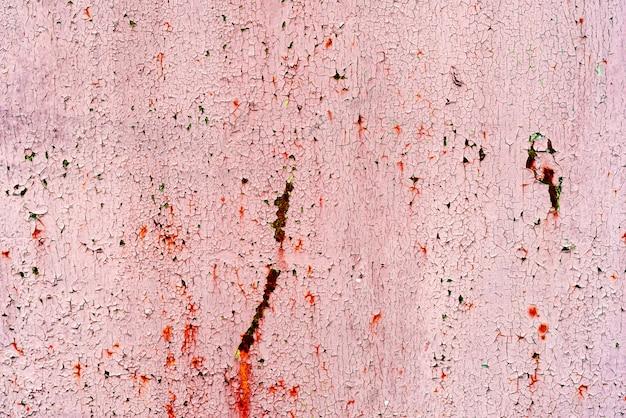 Roter metallhintergrund