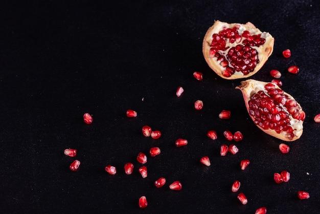 Roter saft granatapfel