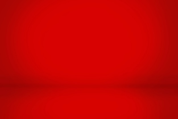 Roter steigungszusammenfassungswand- und studioraumhintergrund, kann ihr produkt dargestellt werden