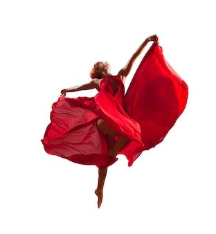 Roter tänzer