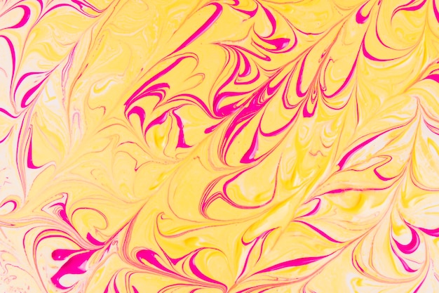 Roter und gelber abstrakter hintergrund