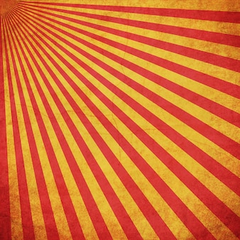 Roter und gelber grunge sonnendurchbruch-weinlesehintergrund mit raum