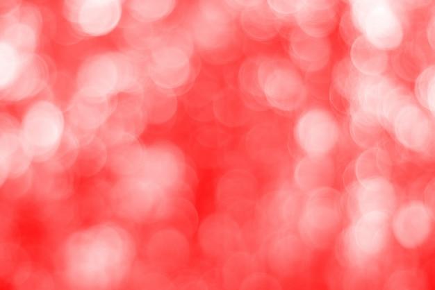 Roter unscharfer hintergrund, blasenrotes bokehlicht