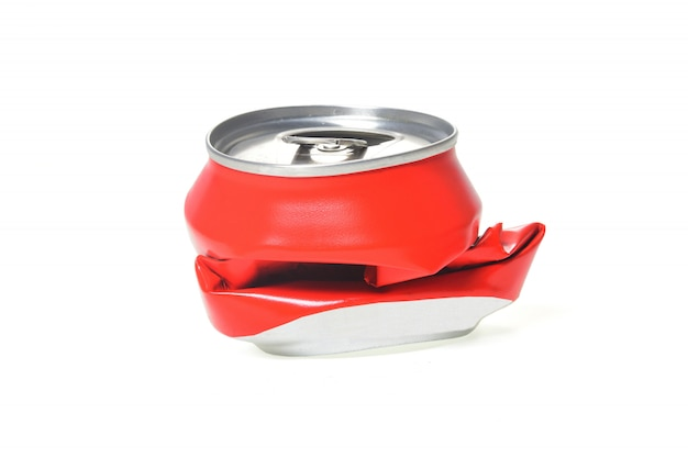 Rotes aluminium kann abgeflacht werden