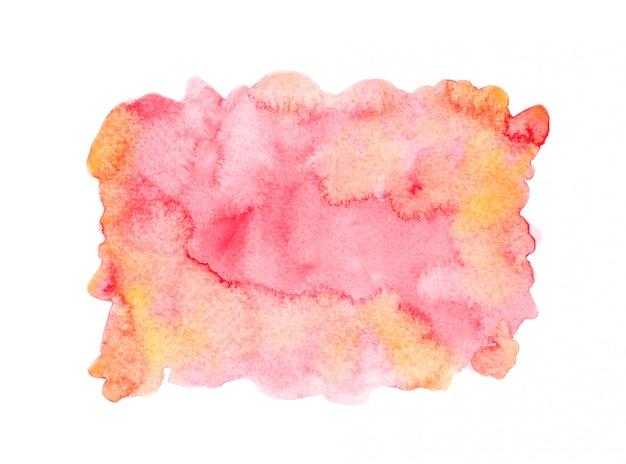 Rotes aquarell hintergrund textur design