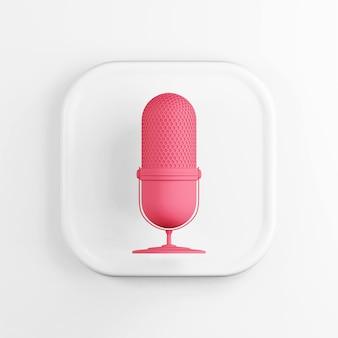 Rotes mikrofonsymbol