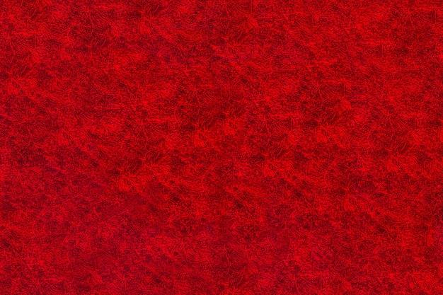 Rotes texturtextil