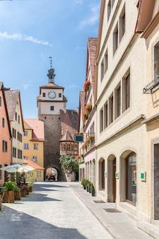 Rothenburg ob der tauber, franken, bayern, deutschland